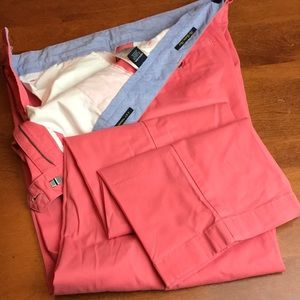 NWOT Nautica The Beacon Pant Pink 32W 32L
